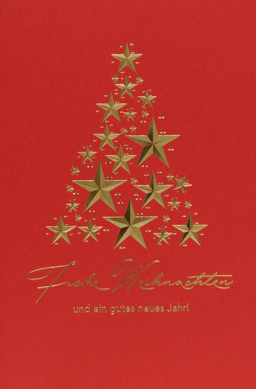 Weihnachtskarte - FW 18029