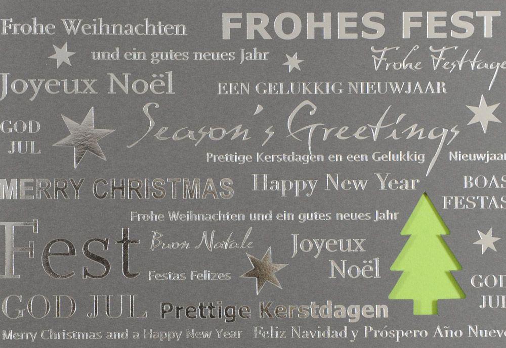 Weihnachtskarte - FW 18115