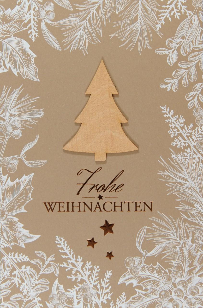 Weihnachtskarte - FW 17998